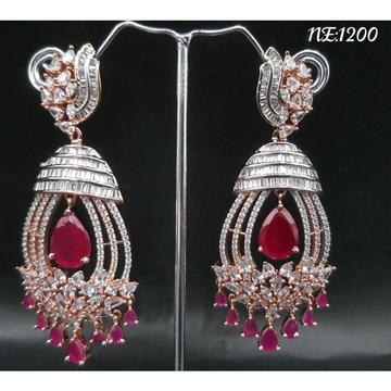 Cz Diamond Earrings#1058