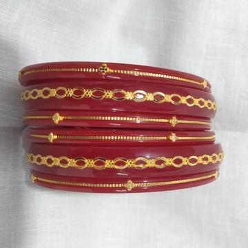 22KT Gold Hallmark Plastic Bangle by