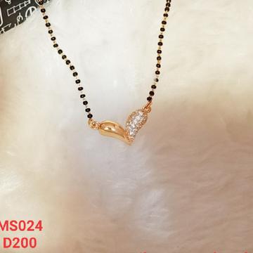 beautiful delicate mangalsutra by J.H. Fashion Jewellery