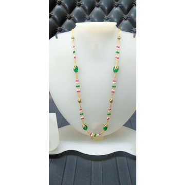 916 Gold Multicolor Fancy Mala by Celebrity Jewels