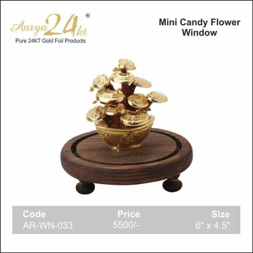 MINI CANDY FLOWER WINDOW