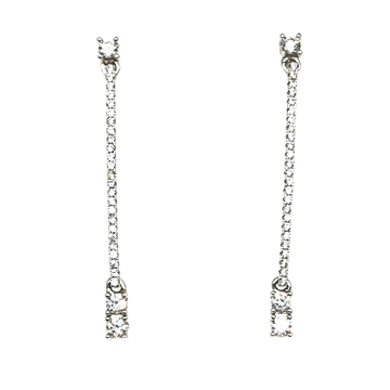 925 Sterling Silver Long Earring MGA - BTS0038