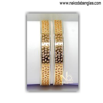 916 Gold CNC Bangles NB - 1403