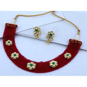 22KT Gold Hallmark Stylish Necklace Set