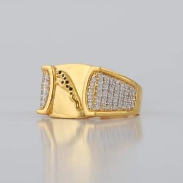 22KT/916 Yellow Gold Melvin Jaguar Ring For Men