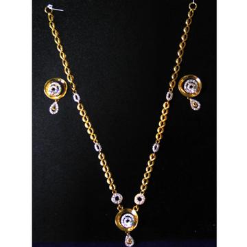 916 gold cz delicate dokia set srn-n001