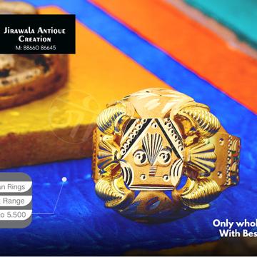 916 Nazaran Gold Ring JAR-005