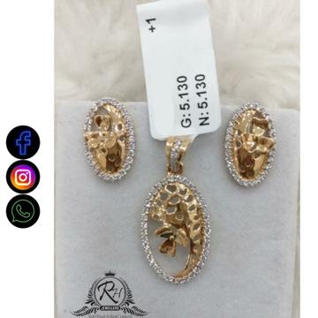22 carat gold ladies earrings set RG-ER690
