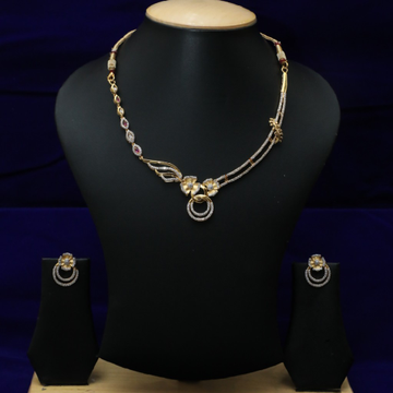 916 Diamond Necklace Set CZS0023