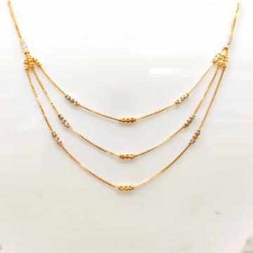 22 Carat GOLD ladies fency chain RH_GR120