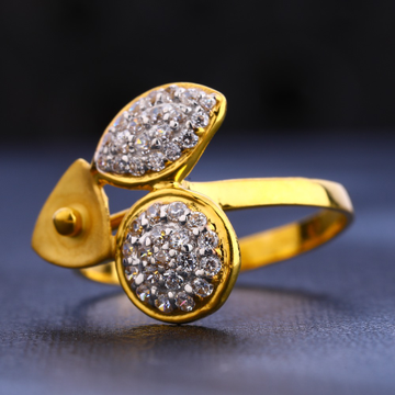 22CT Gold Stylish Ladies Ring LR627