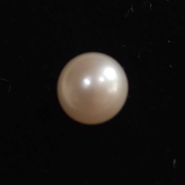 4.19ct round white pearl-moti by