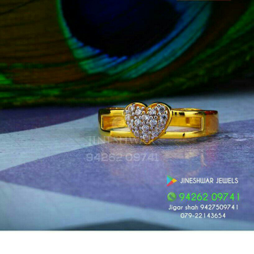 Official were Cz Fancy ladies Ring LRG -0243