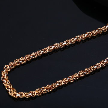 Mens Rose Gold 18K Chain-RMC35