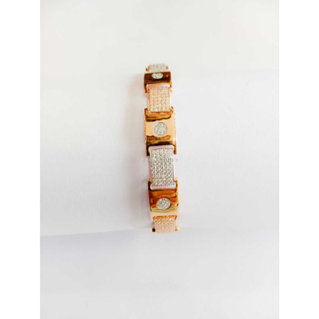 18c Rose Gold Jents Braclet