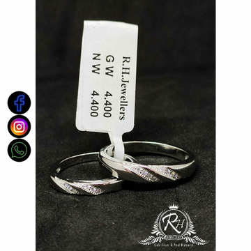 92.5 Silver Couple Rings RH-CR753