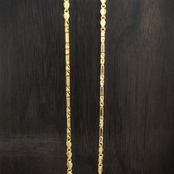 fancy 22 Caret gold handmade chain by Suvidhi Ornaments