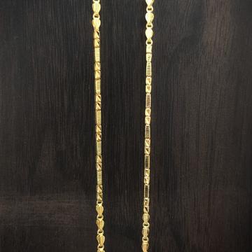 fancy 22 Caret gold handmade chain