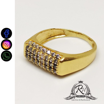 22 carat gold daimond latest rings RH-GR472