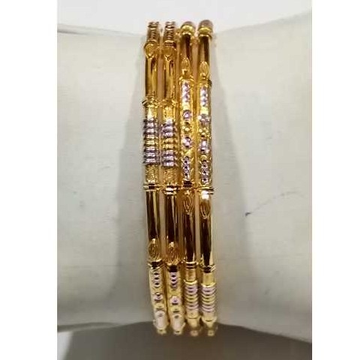 22KT Gold Fancy Bangle