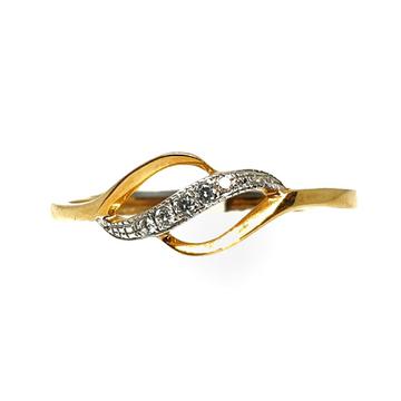 18K Gold Real Diamond Ring MGA - RDR0024