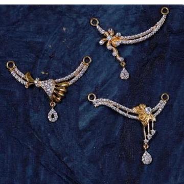 916 Gold Diamond MangalSutra Pendal RH-MSP01