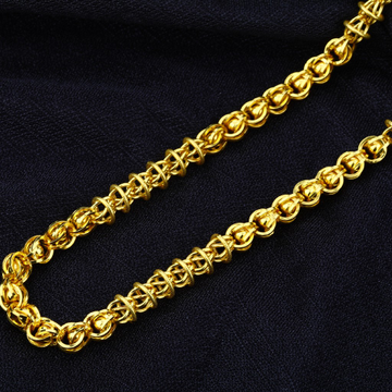 Mens Gold Indo Chain-MIC03