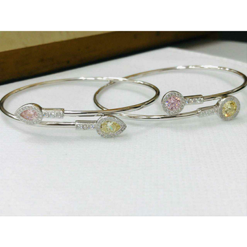 92.5 Sterling Silver Without Lock Adjustable Light Weigh Bracelet Ms-3051