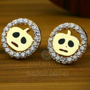 18kt Fancy Emoji Shape Beby Tops ATG -0093