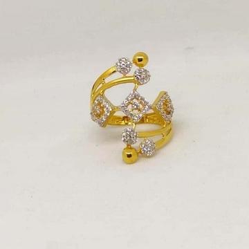 22 K Gold Fancy Ring. NJ-R01004