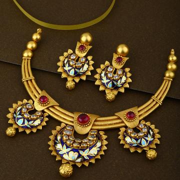 916 Hallmark Gold Elegant Necklace Set