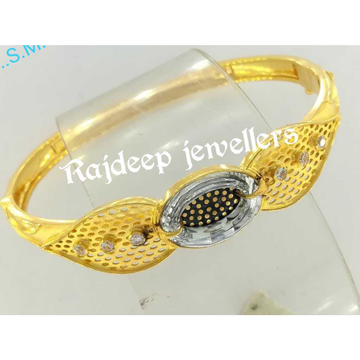 916 Gold Traditional Solid Bracelet