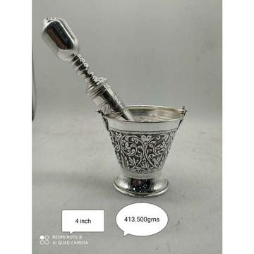 92.5 sterling silver handmade oxodize cholel nakshi doll(balti) & pichkari(inject) ms-2568