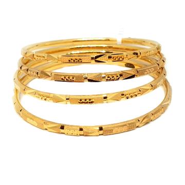 One gram gold forming bangles mga - gf0025