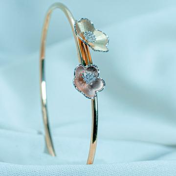 916 gold flower women bracelet lb1-491 by