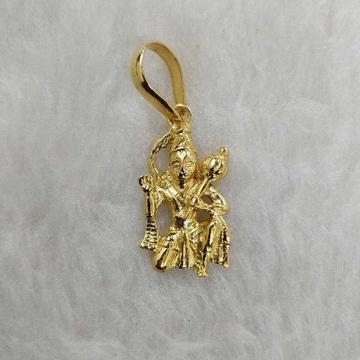 22KT Gold hanumanji pendant