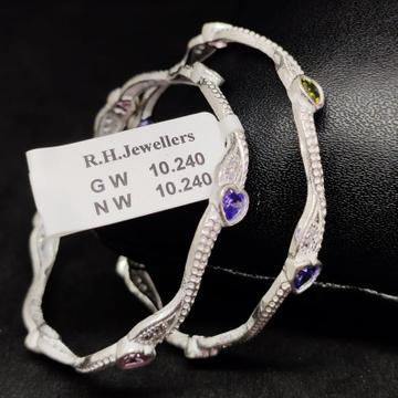 silver antiq baccha kada RH-BK613