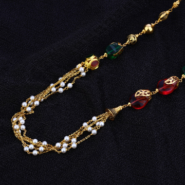 Designer Ladies 22K Gold Moti Mala-AC128