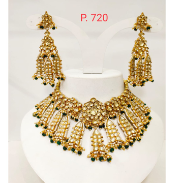 Choker set for women with antic new design necklace set 1253