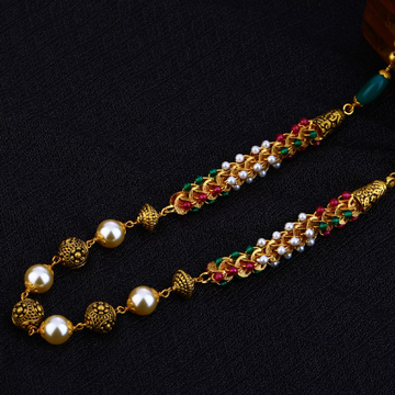 916 Ladies Antique Designer Moti Chain Mala-AC84