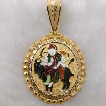 916 Gold Fancy Gent's Meladi Maa Pendant