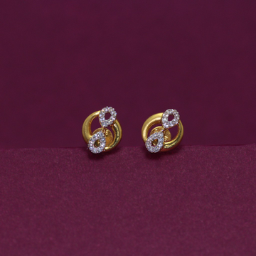 22KT Hallmarked Stunning Earring by Simandhar Jewellers