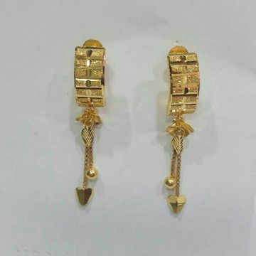 22K Gold Attractive Latkan J Tops