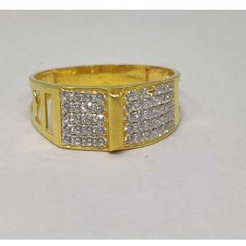 22k Gents Fancy Gold Ring Gr-28612