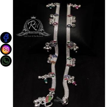 silver fancy payal RH-LP341