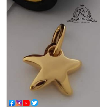 22 carat gold star pendants RH-PD499