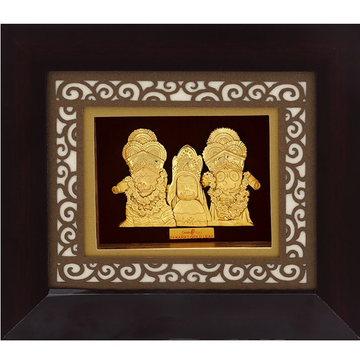 916 Gold Plated Jagannath Puri Photo Frame AJ-09