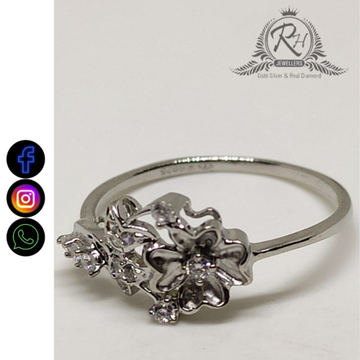 92.5 silver classical ladies rings RH-LR812