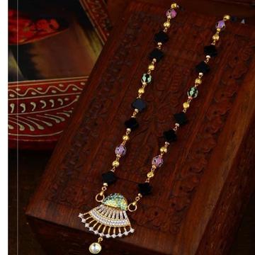 916 Gold antic Rajasthani Mangalsutra RH-GM24