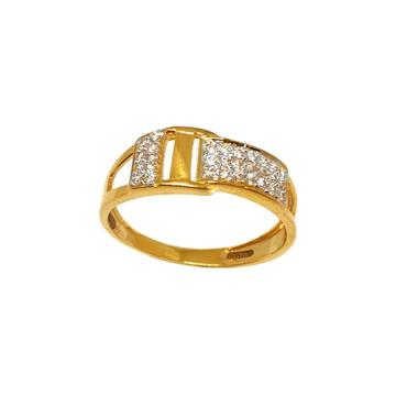 22K Gold CZ Diamond Ring MGA - GRG0206